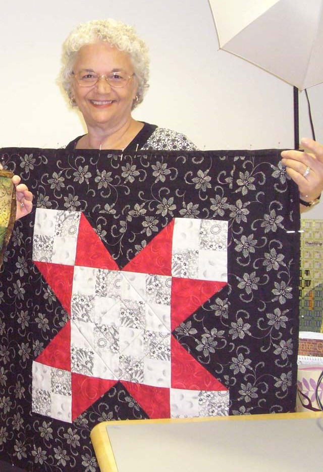 Class - First Wall Hanging by Lorraine