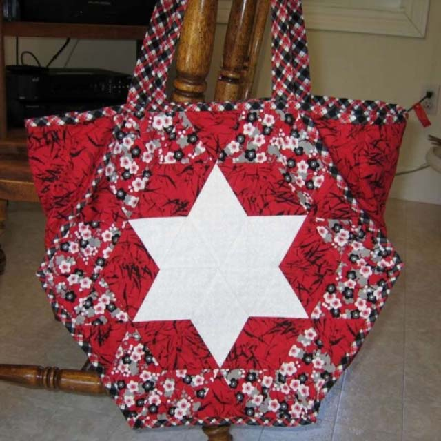 Found in Oh My Stars!, page 72 - Stars Tote Bag by Martha E.