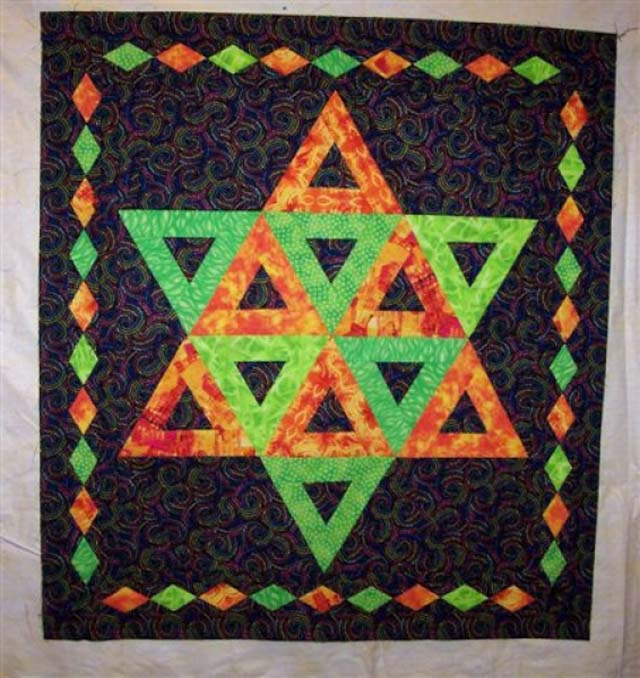 Triangle Star  - Design by Norma M.