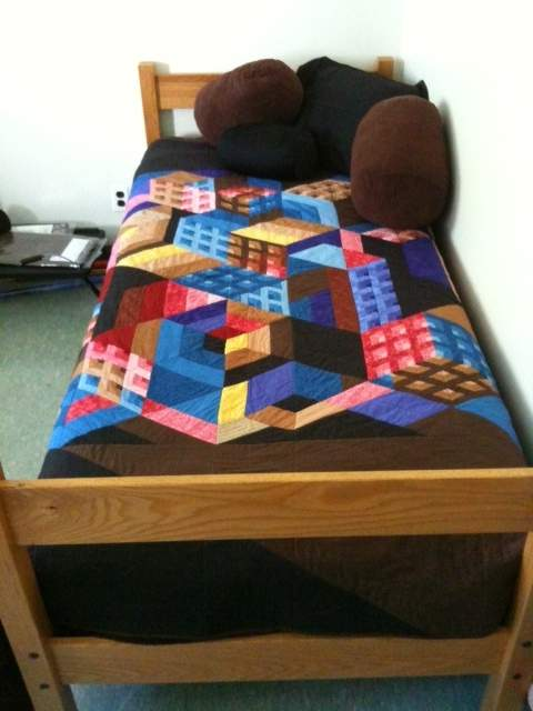 Found in Sara Nephew's Building Block Quilts - Cityscape by Martha S.
