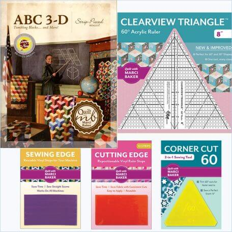 ABC 3-D Tumbling Blocks... and More! Book and Tool Set
