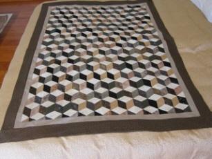 Found in ABC 3-D Tumbling Blocks...and  More! - Tumbling Blocks by Caroline N.