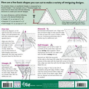 Clearview Triangle™ Mini Super 60° Acrylic Ruler
