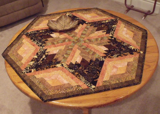 Found in Not Your Grandmother's Log Cabin - Wall Hanging by Jacqui V.