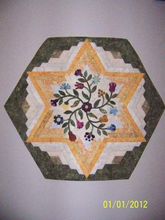 Found in Not Your Grandmother's Log Cabin - Wall Hanging by Martha D.