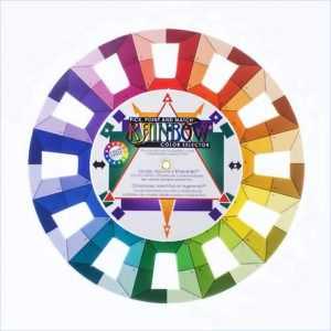 Color Wheel Rainbow Selector