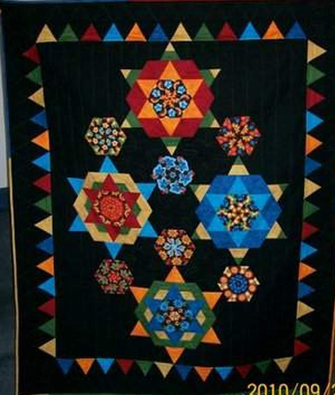 Found in Doubledipity - Doubledipity Quilt by Lesli R