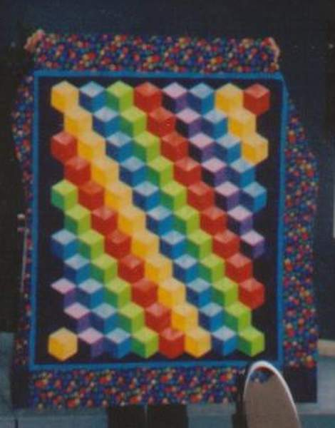 Found in ABC 3-D Tumbling Blocks… and More! - Tumbling Blocks by Verda B.