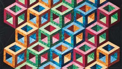 Hollow Cube One Block Wonder Quilt With Marci Baker