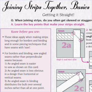 Joining Strips Together, Basics