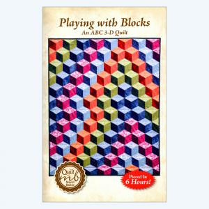 Playing With Blocks, An ABC 3-D Quilt