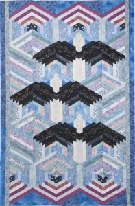 Not Your Grandmother S Log Cabin Quilt With Marci Baker