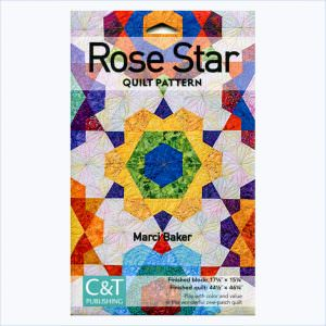 Rose Star Quilt Pattern