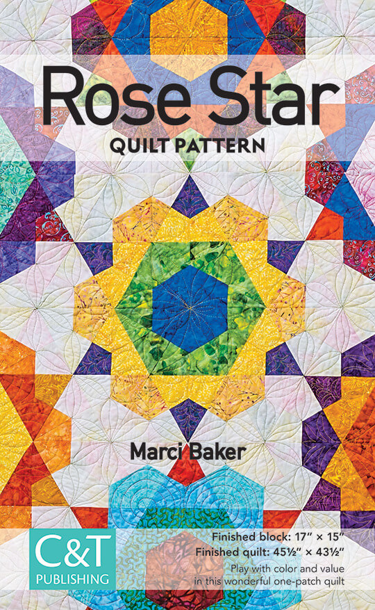 Rose Star Quilt Pattern Quilt With Marci Baker Quilt