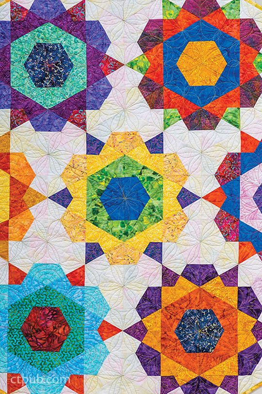 Rose Star Quilt Pattern Quilt With Marci Baker