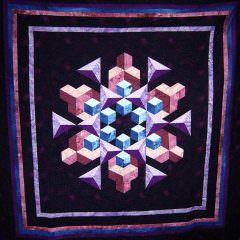 Space Crystal Too By Nancy C.