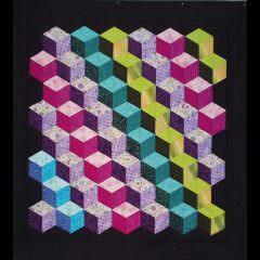 Tumbling Blocks by Marilyn E.