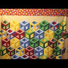Hollow Cube by Martha E.