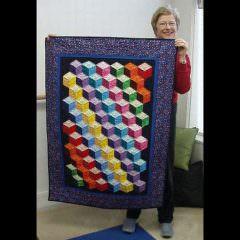 Tumbling Blocks by Penny R.