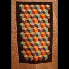 Tumbling Blocks by Venita