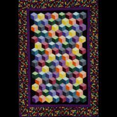 Tumbling Blocks by Rochelle M.
