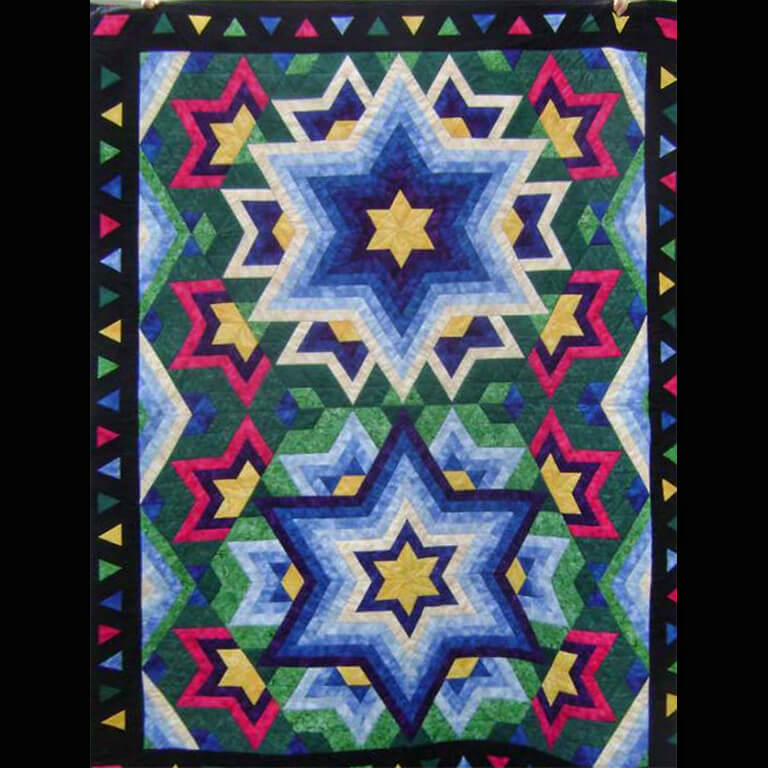 Log Cabin Star Pattern Not Your Grandmother S Log Cabin